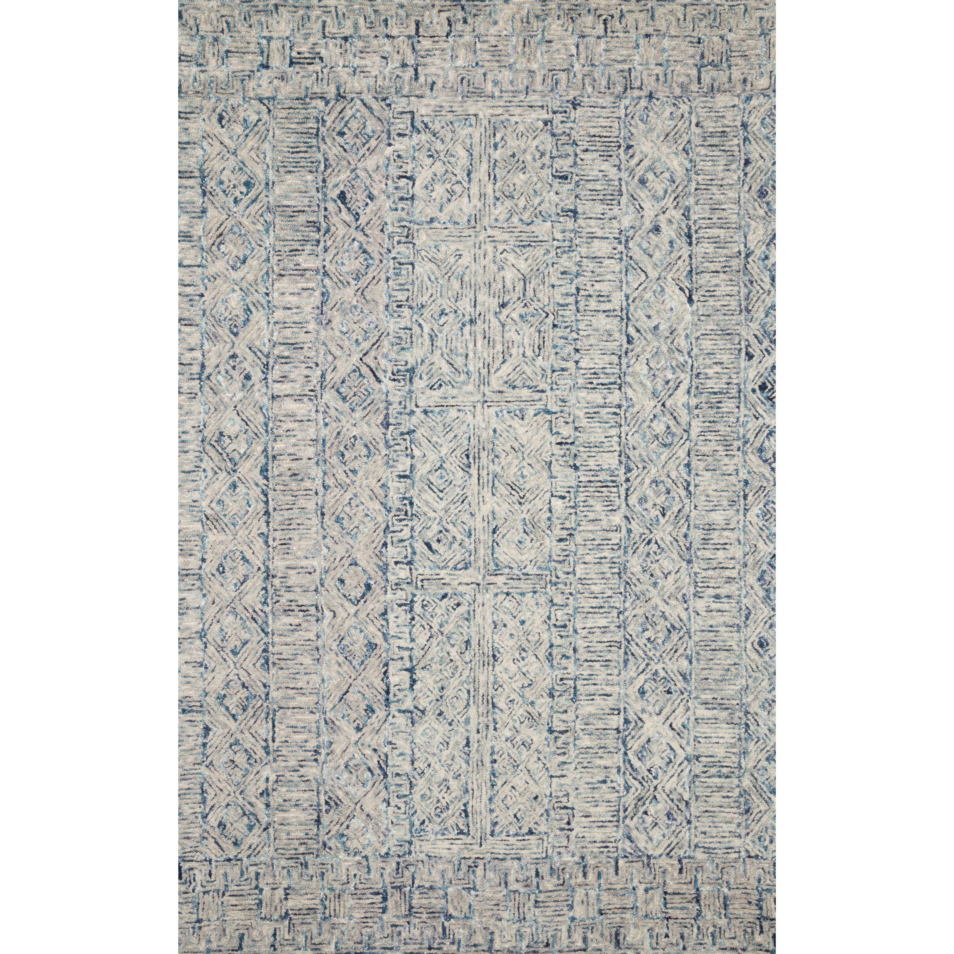 "Peregrine 11'6"" x 15' Ocean Rug by Loloi Rugs at Sprintz Furniture"