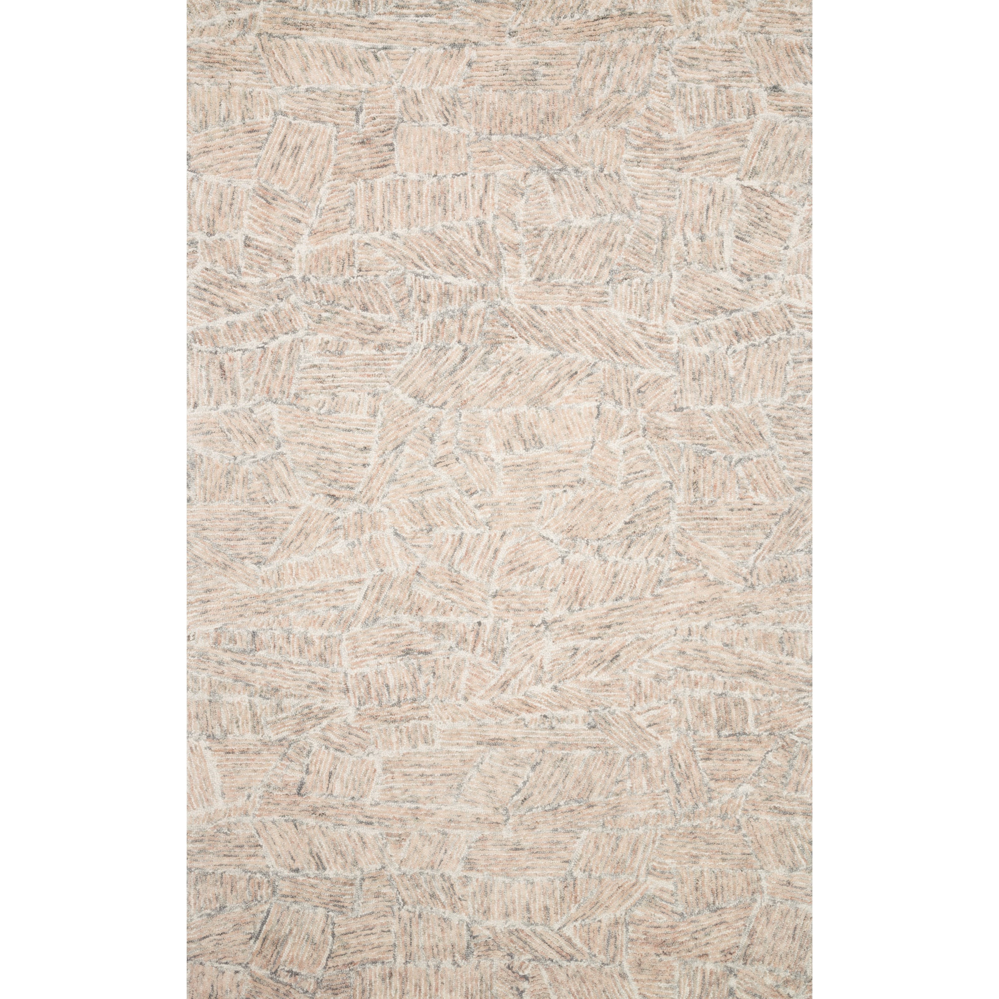 """Peregrine 1'6"""" x 1'6""""  Blush Rug by Loloi Rugs at Virginia Furniture Market"""