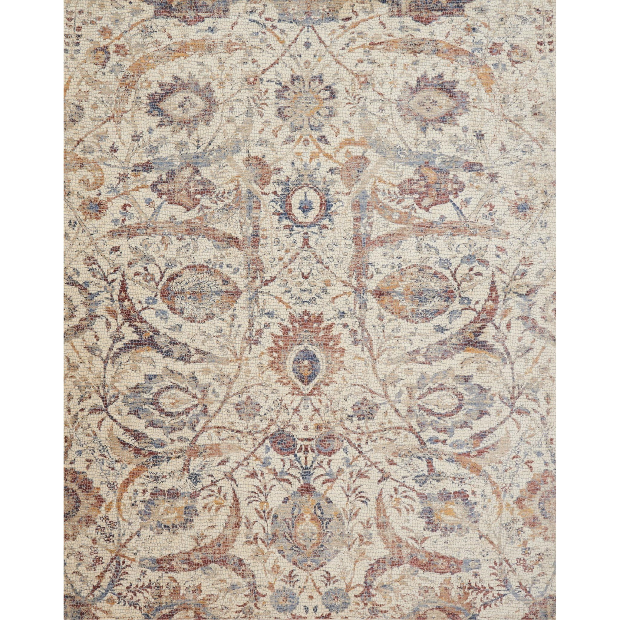 """Porcia 7'-10"""" X 7'-10"""" Round Rug by Loloi Rugs at Sprintz Furniture"""