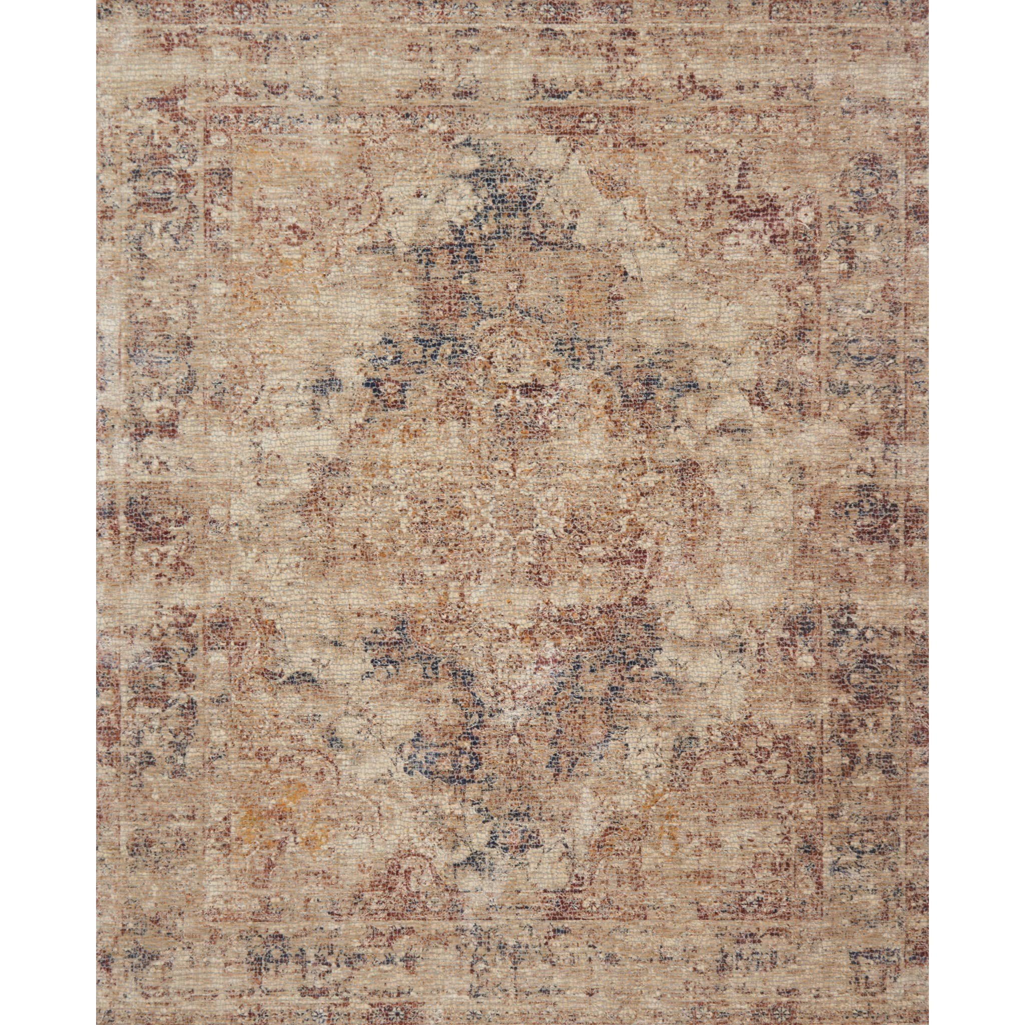 """Porcia 3'-7"""" X 5'-2"""" Area Rug by Loloi Rugs at Virginia Furniture Market"""