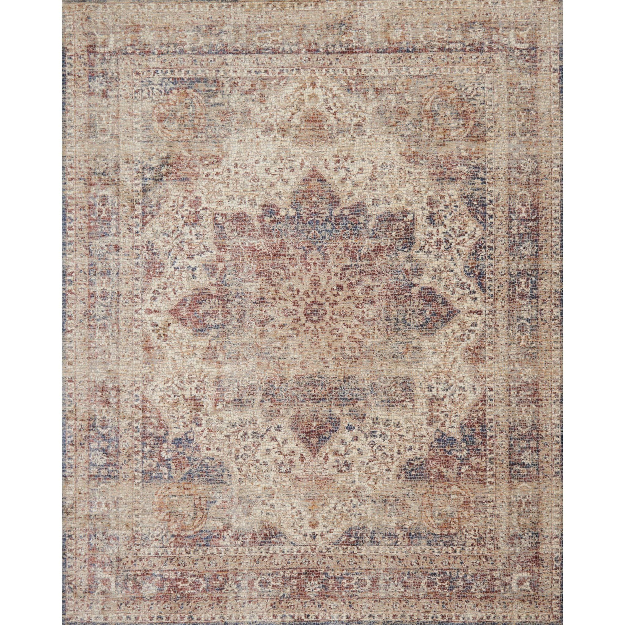 "Porcia 6'-7"" X 9'-4"" Area Rug by Loloi Rugs at Pedigo Furniture"