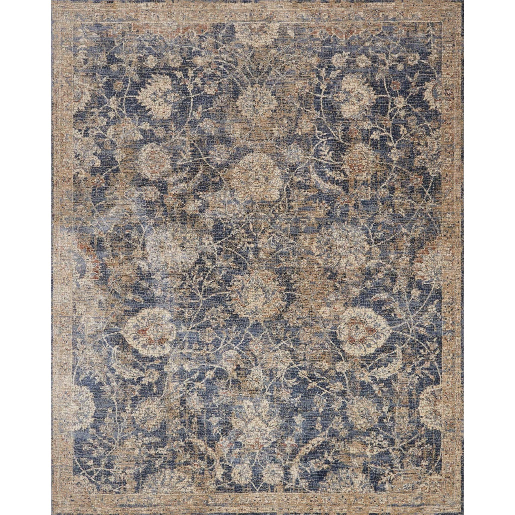 """Porcia 7'-10"""" X 7'-10"""" Round Rug by Loloi Rugs at Virginia Furniture Market"""