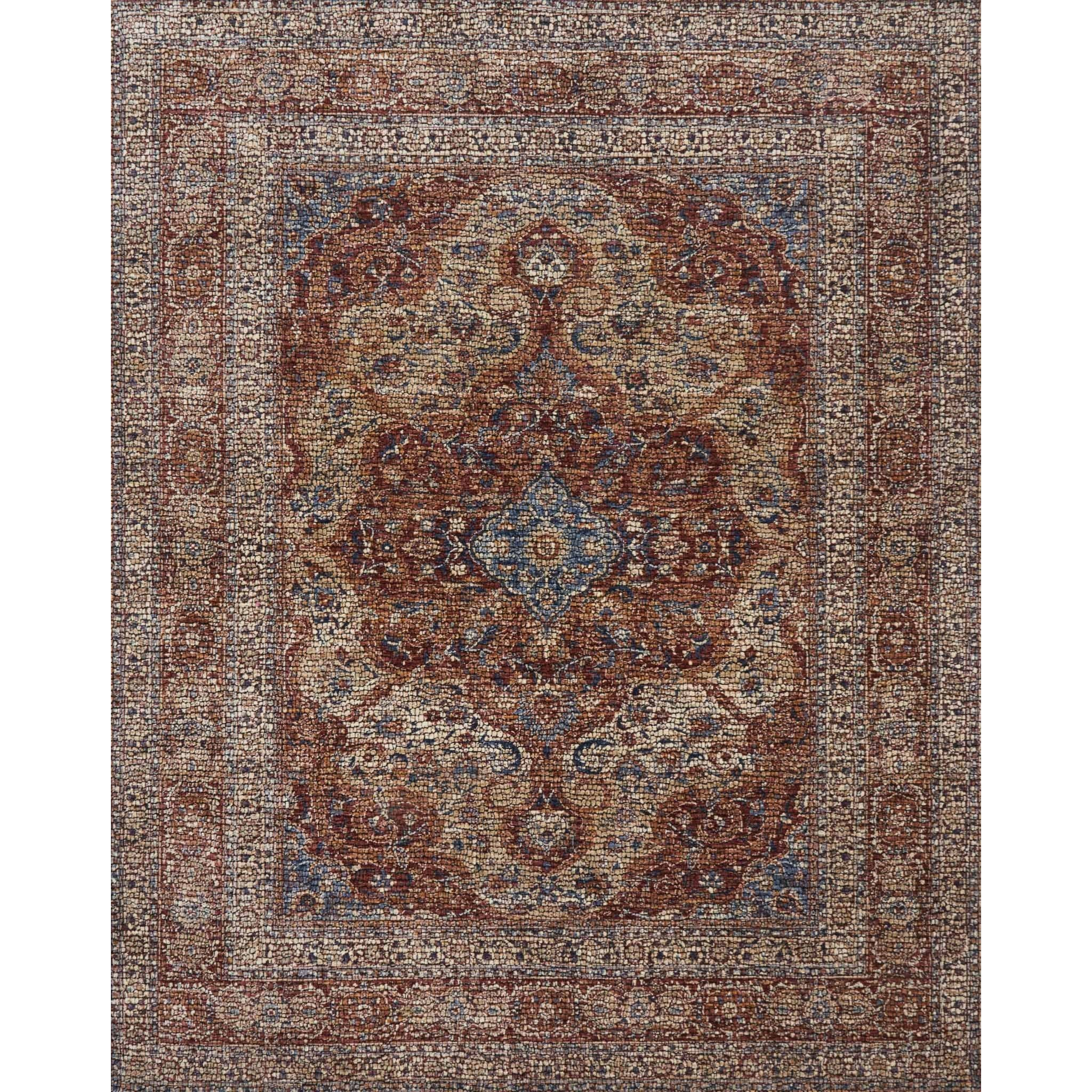 """Porcia 9'-6"""" X 12'-6"""" Area Rug by Loloi Rugs at Virginia Furniture Market"""