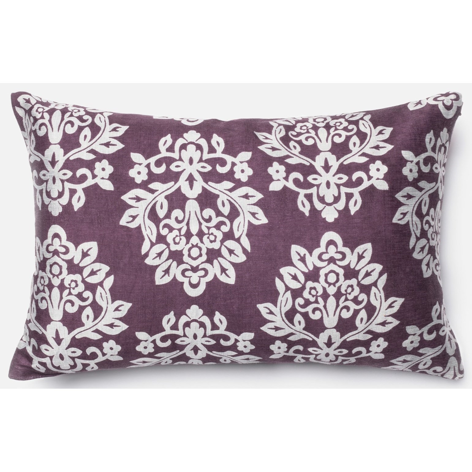 """Printed 13"""" X 21"""" Down Pillow by Loloi Rugs at Virginia Furniture Market"""