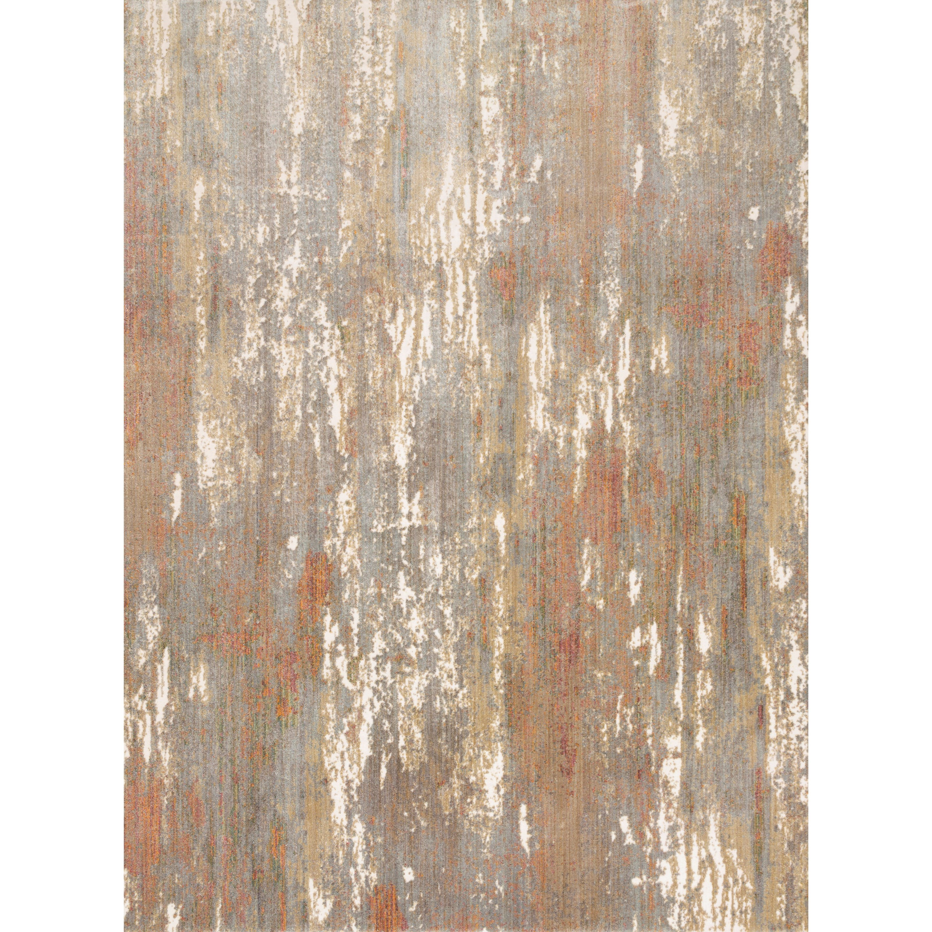 "Reid 5'3"" x 7'8"" Granite Rug by Loloi Rugs at Virginia Furniture Market"