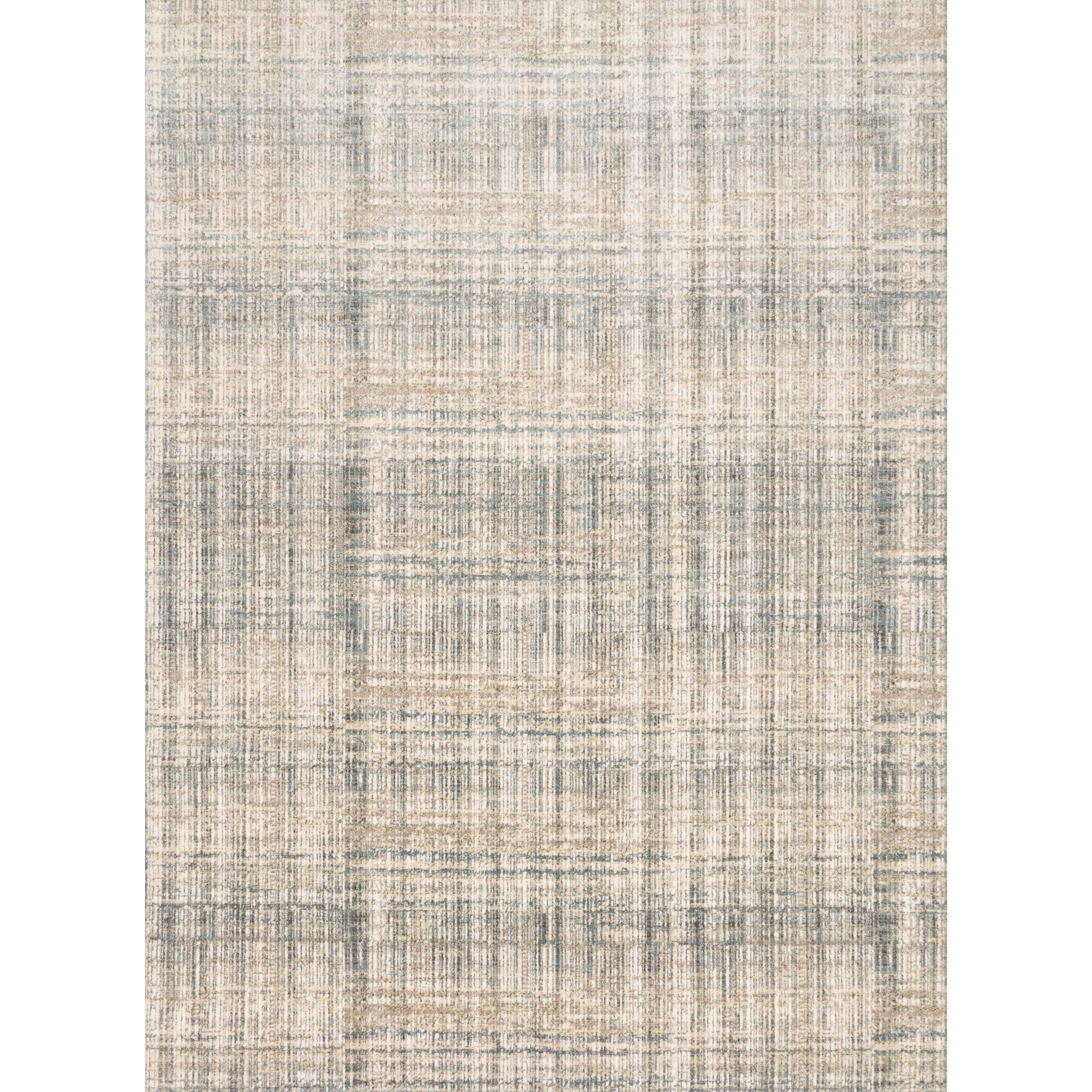 """Reid 3'7"""" x 5'7"""" Bluestone Rug by Loloi Rugs at Belfort Furniture"""
