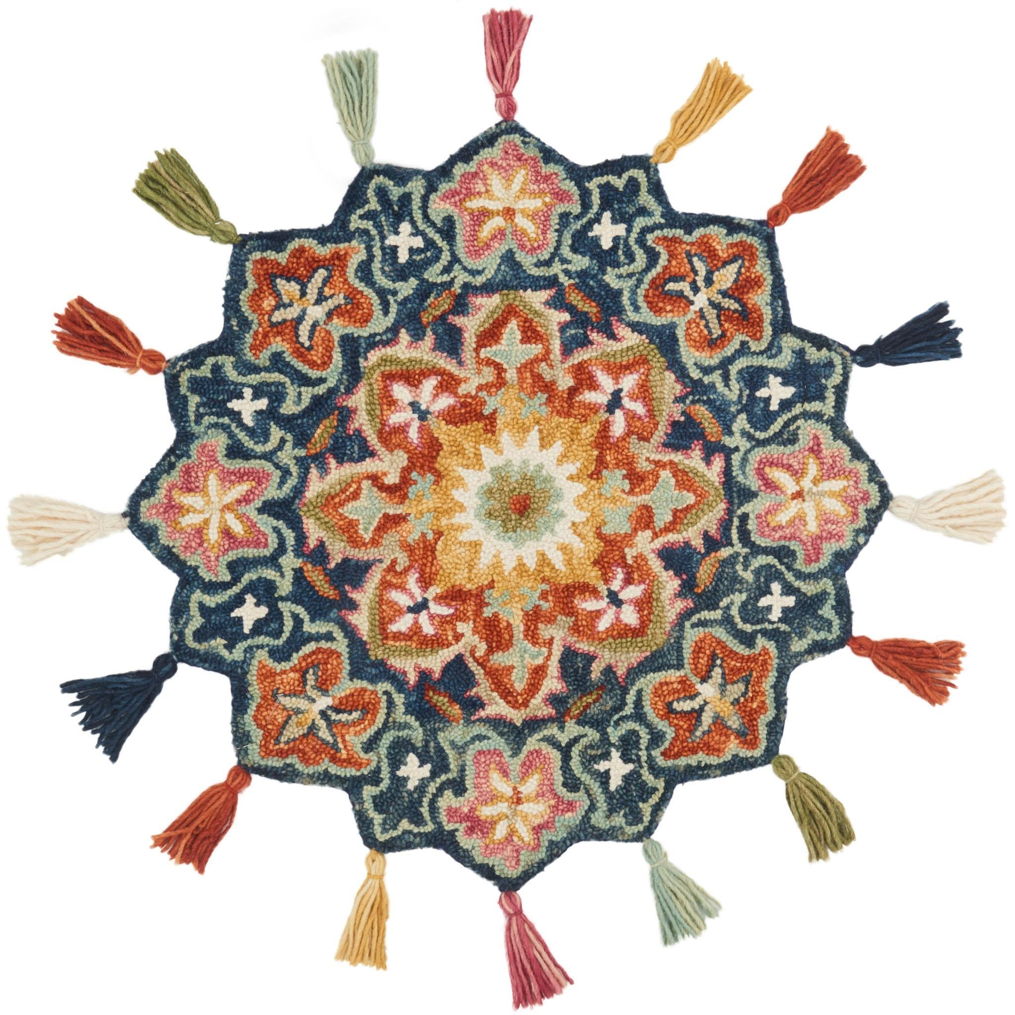"""Remy 3'-0"""" x 3'-0"""" Round Rug by Loloi Rugs at Virginia Furniture Market"""