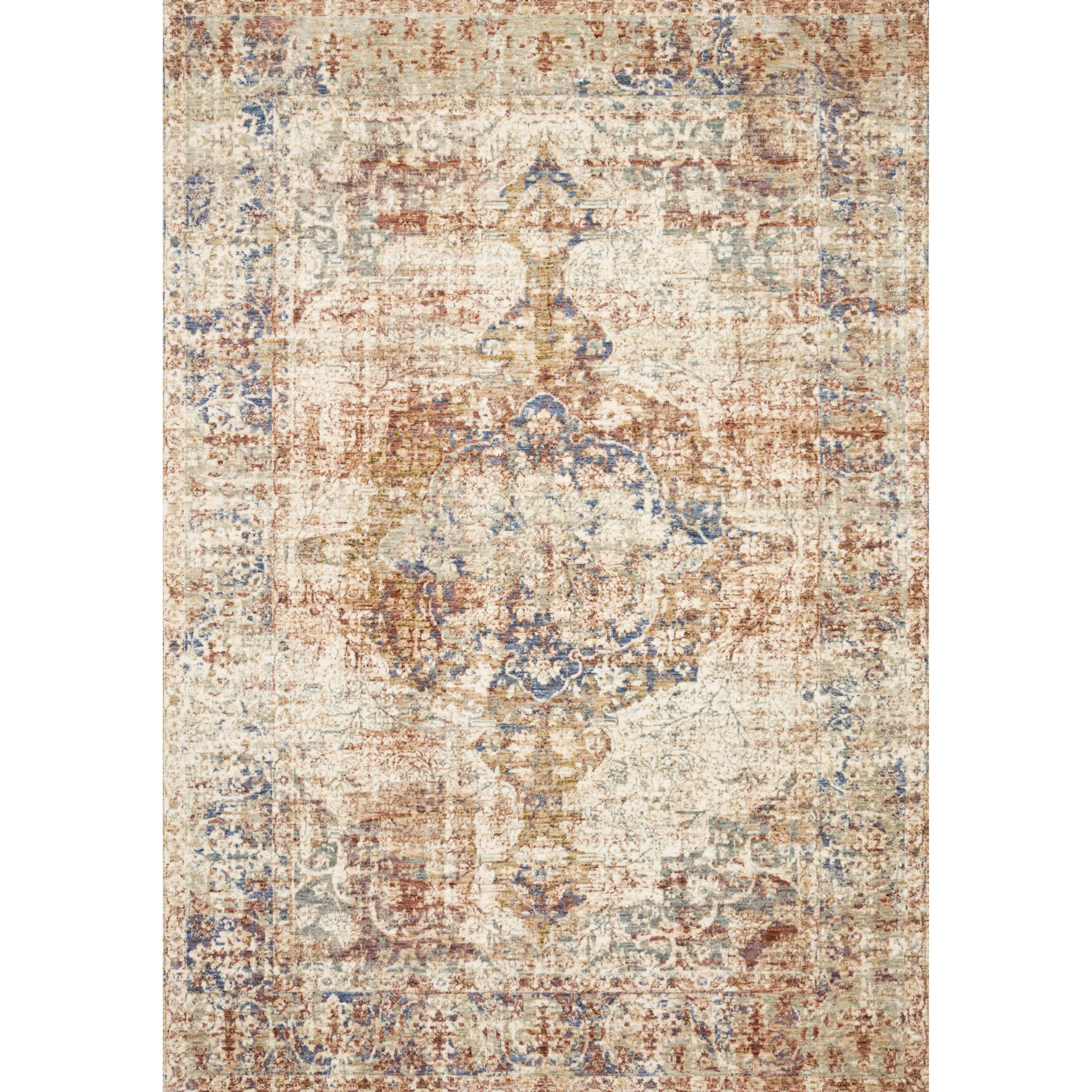 """Revere 2' x 3'2"""" Multi Rug by Loloi Rugs at Virginia Furniture Market"""