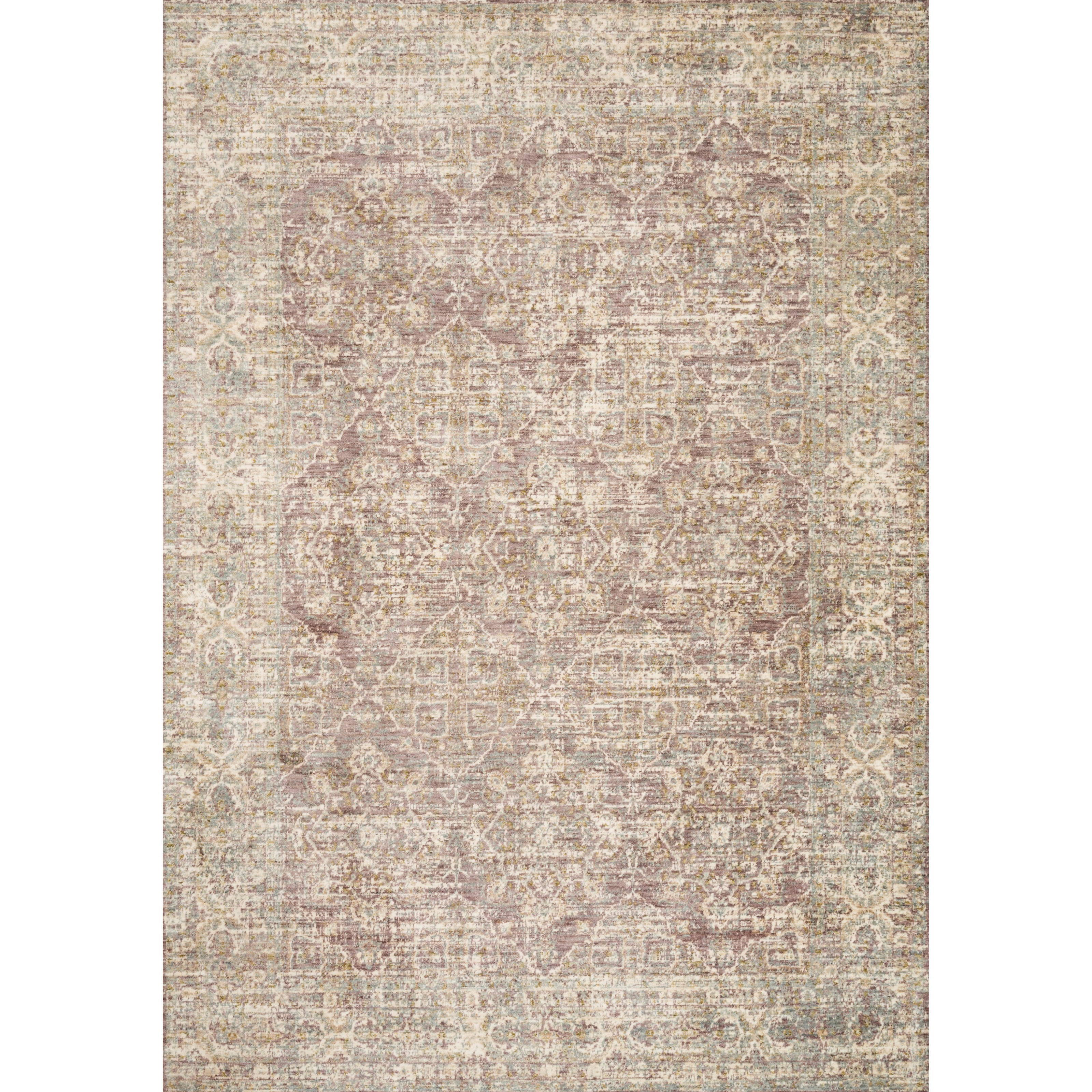 """Revere 3'9"""" x 5'9"""" Lilac Rug by Loloi Rugs at Virginia Furniture Market"""