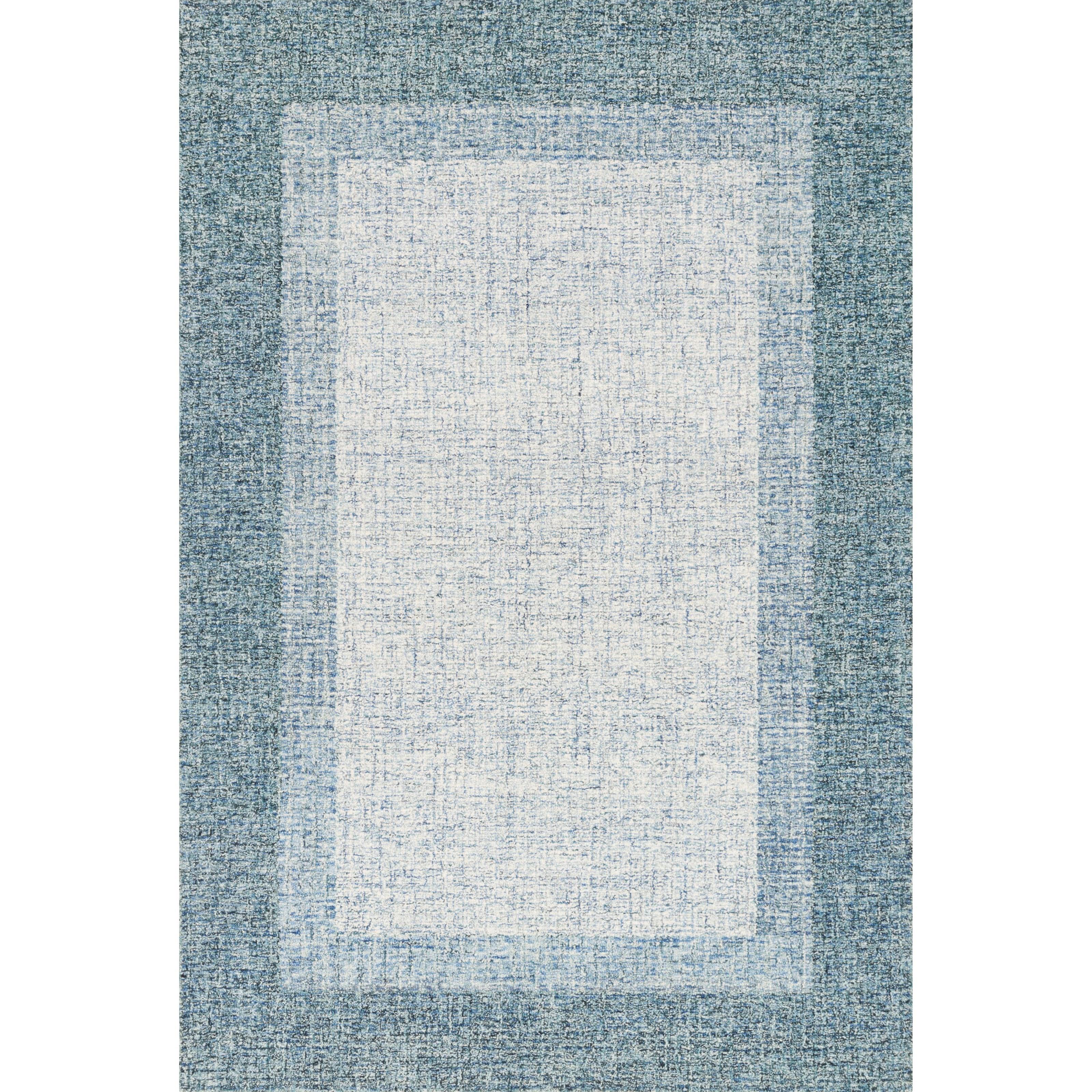 "Rosina 2'6"" x 7'6"" Aqua Rug by Loloi Rugs at Sprintz Furniture"