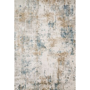 "7'-10"" X 10'-10"" Ivory / Gold Rug"
