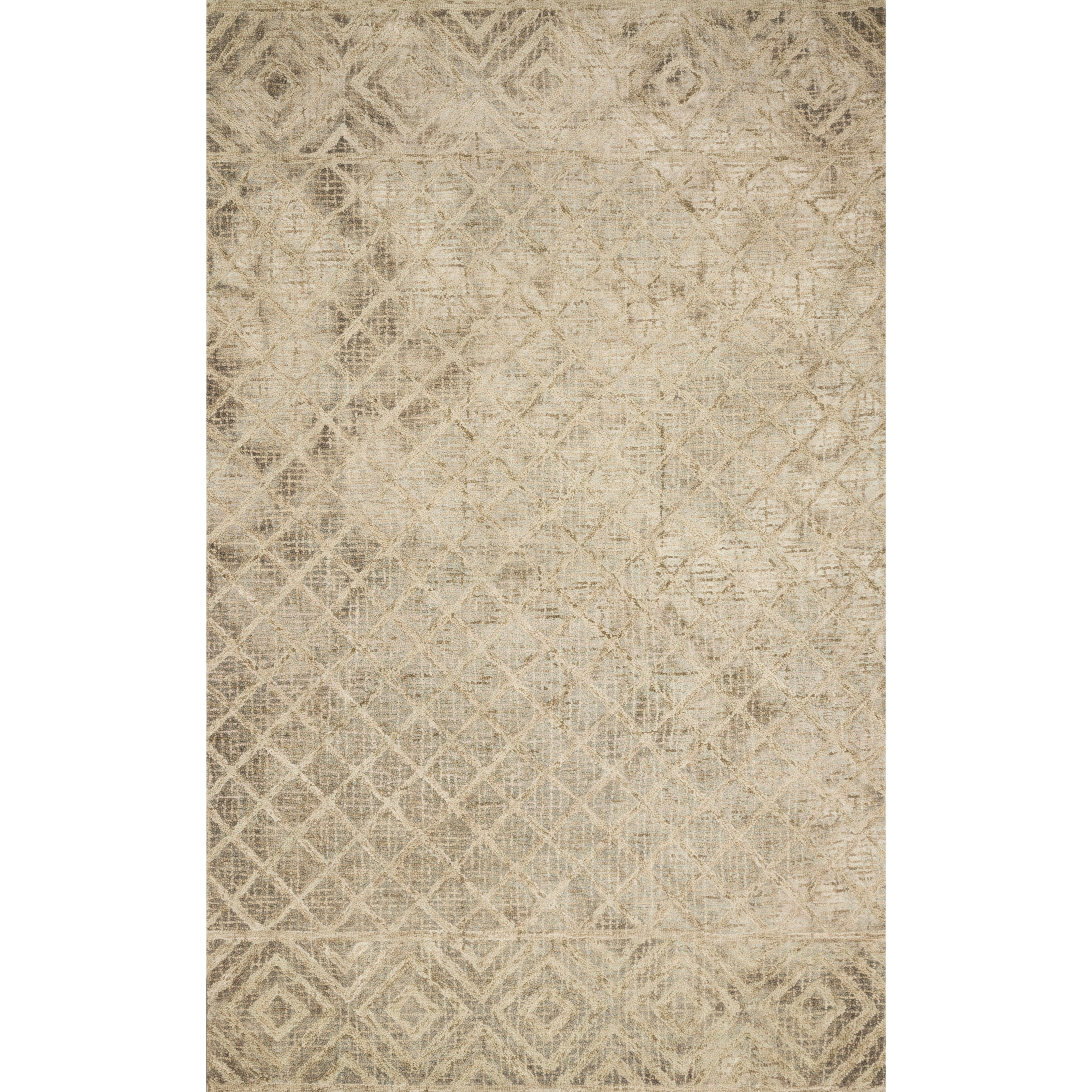 """Simone 2'6"""" x 7'6"""" Sand Rug by Loloi Rugs at Virginia Furniture Market"""