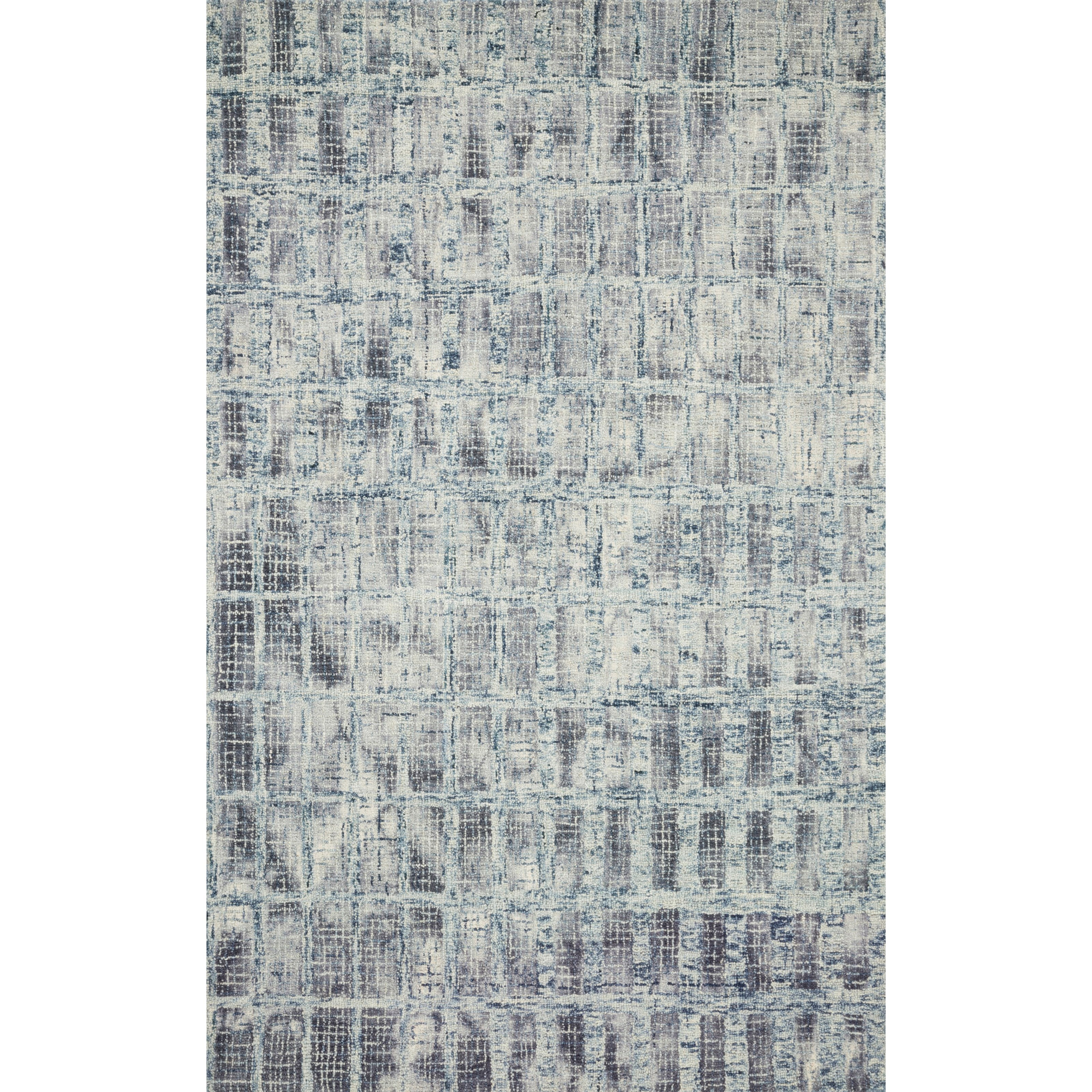 """Simone 3'6"""" x 5'6"""" Blue Rug by Loloi Rugs at Virginia Furniture Market"""