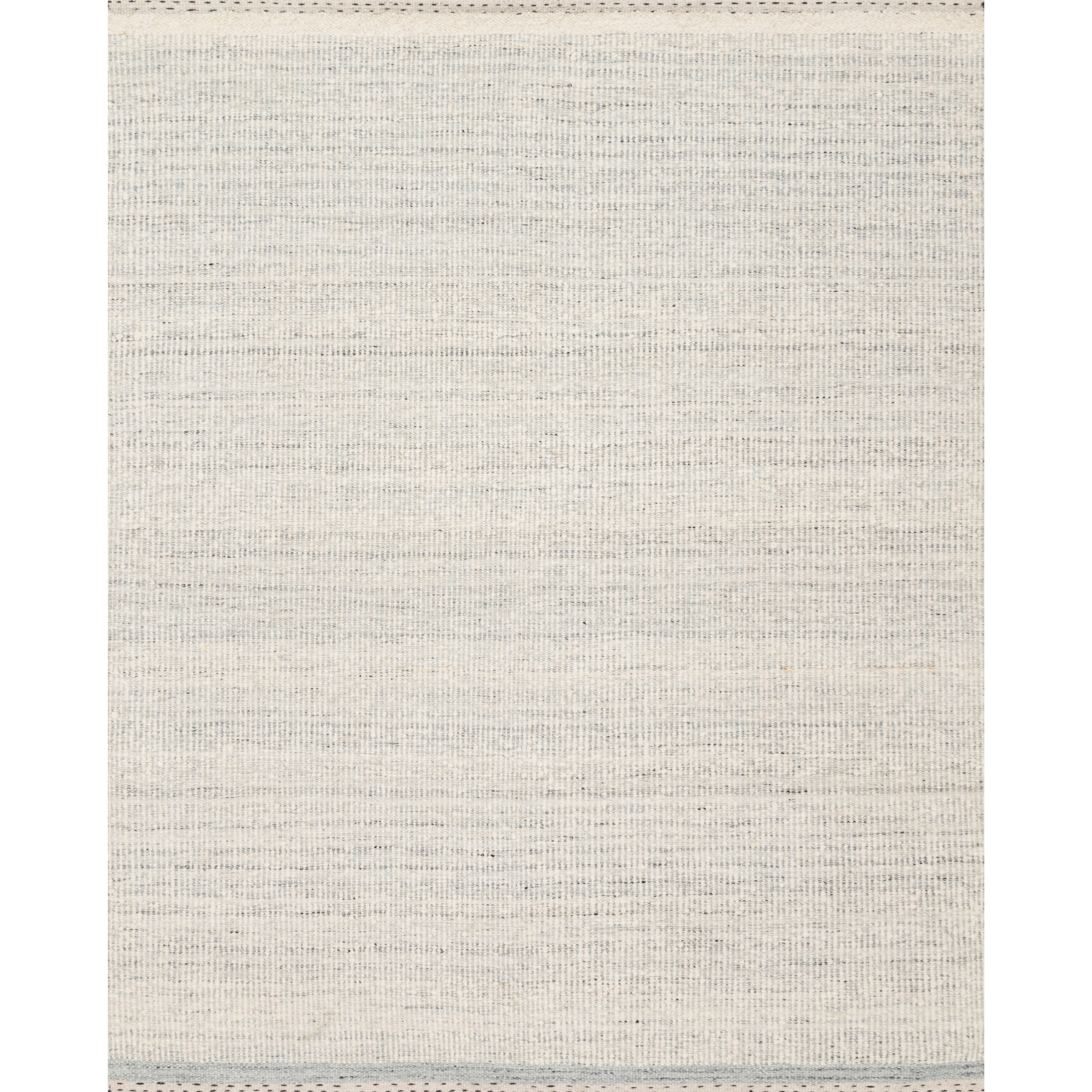 """Sloane 5'0"""" x 7'6"""" Mist Rug by Loloi Rugs at Virginia Furniture Market"""