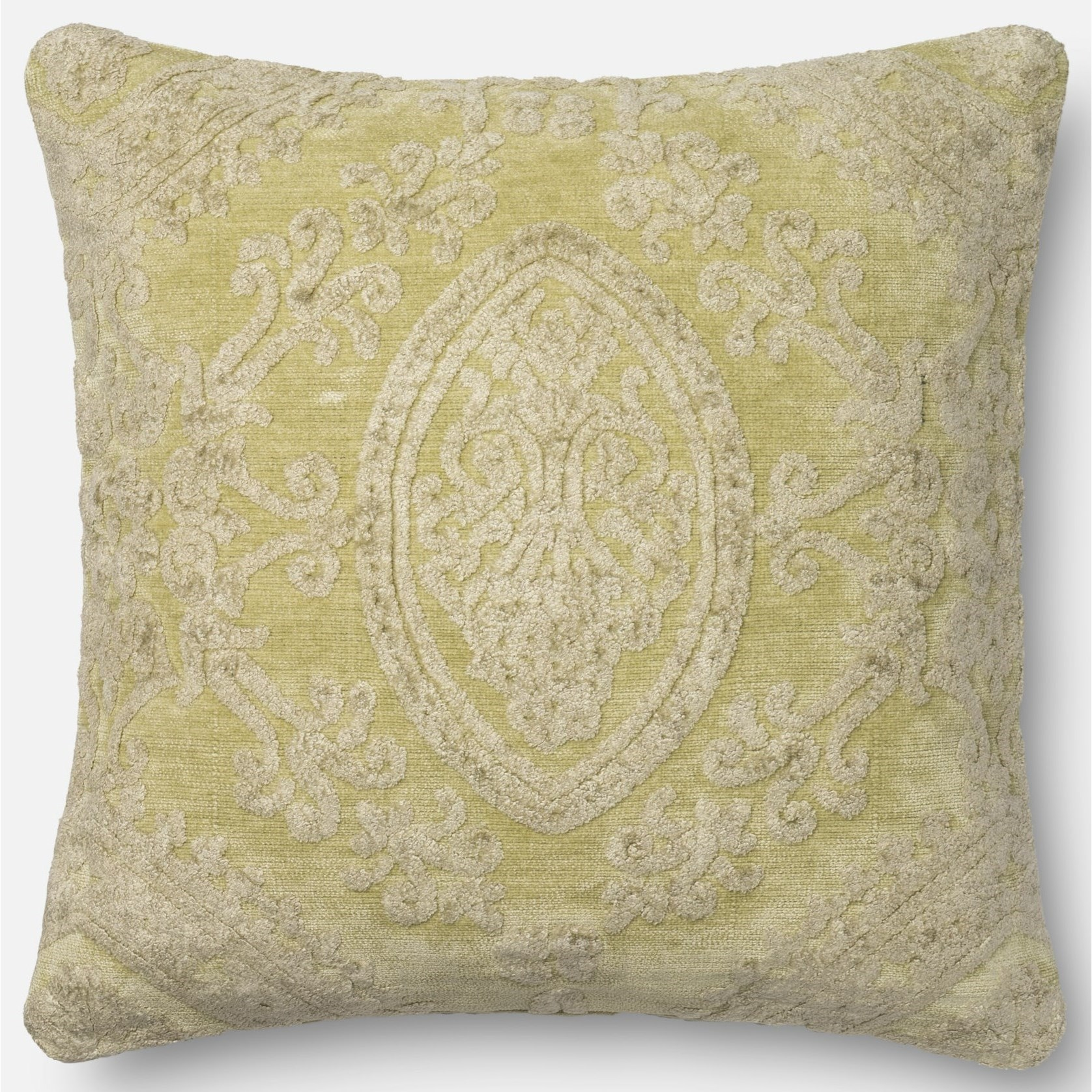 """String Theory 22"""" X 22"""" Down Pillow by Loloi Rugs at Virginia Furniture Market"""