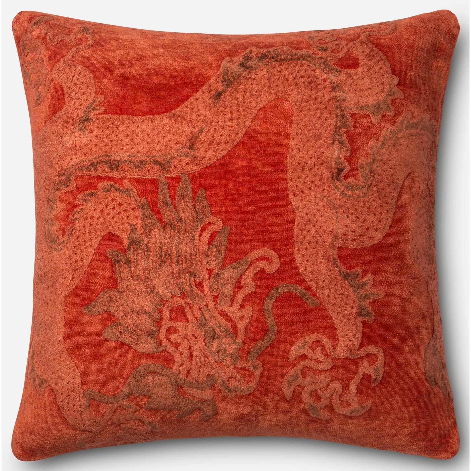 """String Theory 2'-2"""" X 2'-2"""" Down Pillow by Loloi Rugs at Virginia Furniture Market"""