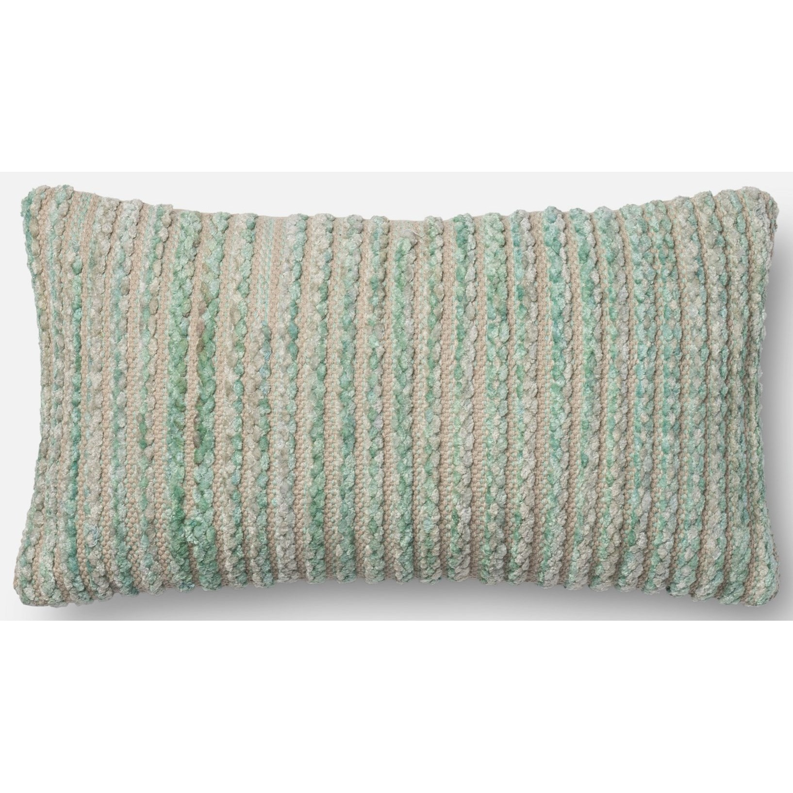 """String Theory 1' X 1'-10"""" Down Pillow by Loloi Rugs at Sprintz Furniture"""
