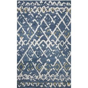 5-0 X 7-6 Denim/Dove Area Rug
