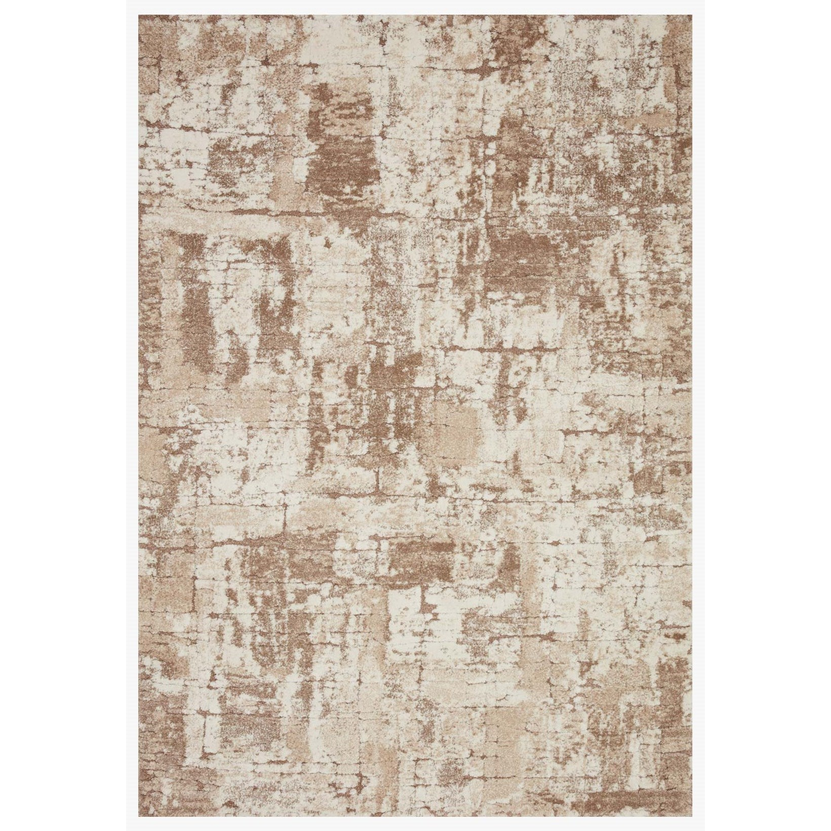 """Theory 2'7"""" x 4' Beige / Taupe Rug by Loloi Rugs at Virginia Furniture Market"""