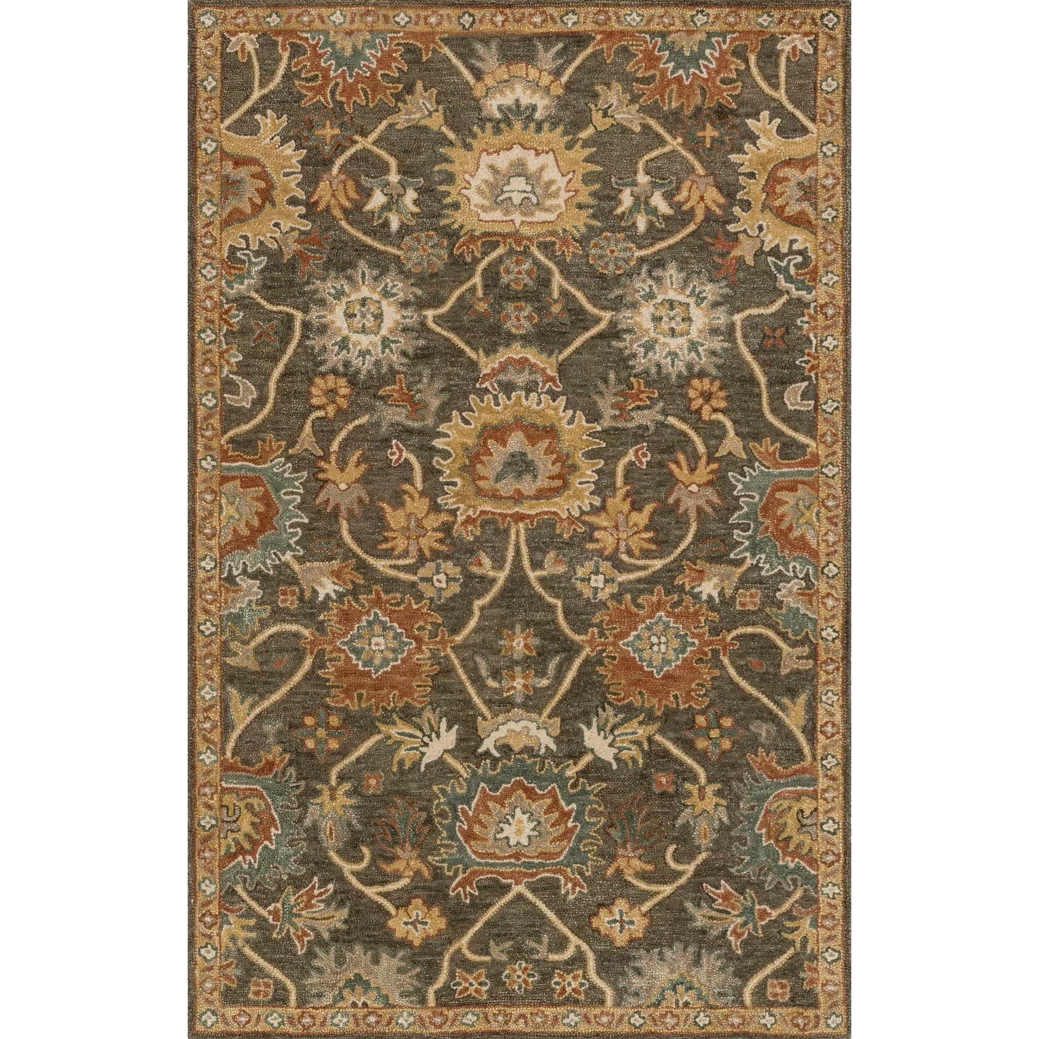 """Underwood 2'-3"""" X 3'-9"""" Rug by Loloi Rugs at Virginia Furniture Market"""