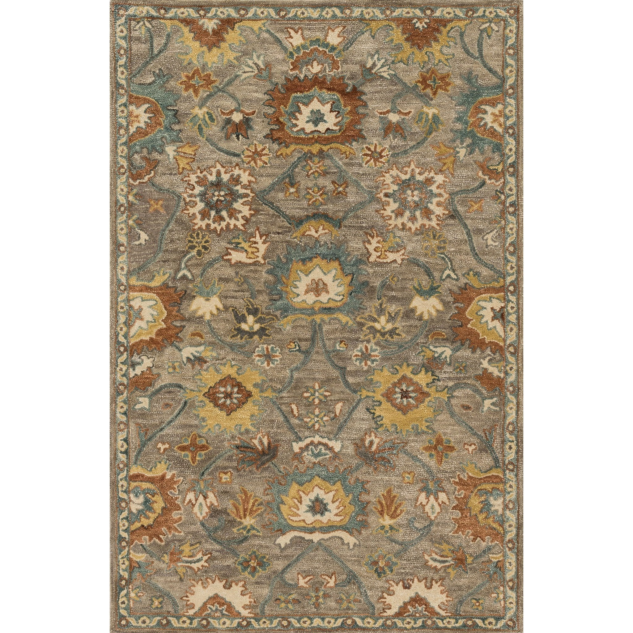 """Underwood 3'-6"""" X 5'-6"""" Rug by Loloi Rugs at Virginia Furniture Market"""