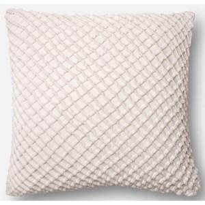 """White 22"""" X 22"""" Polyester Pillow"""
