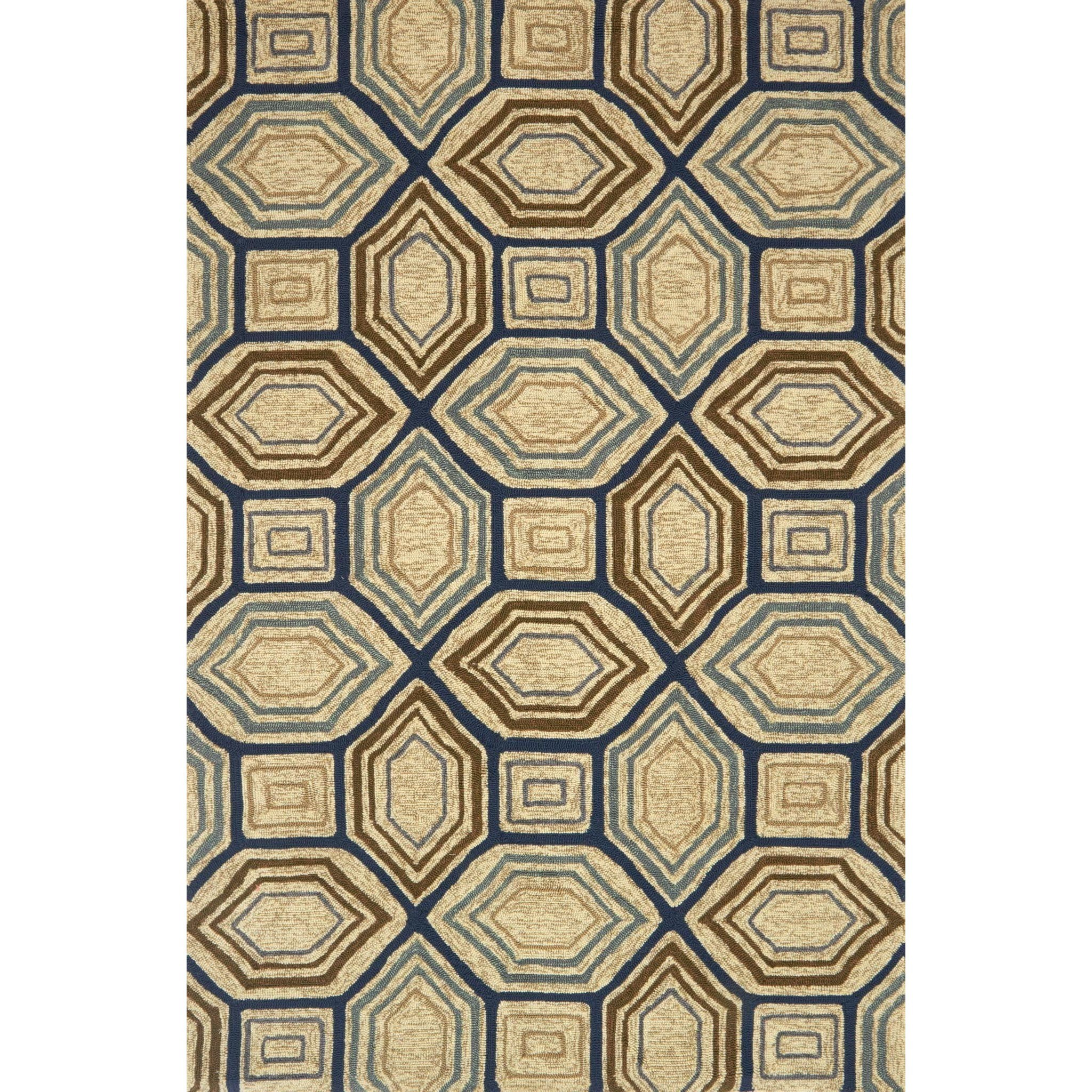"Venice Beach 3'-6"" x 5'-6"" Area Rug by Loloi Rugs at Belfort Furniture"