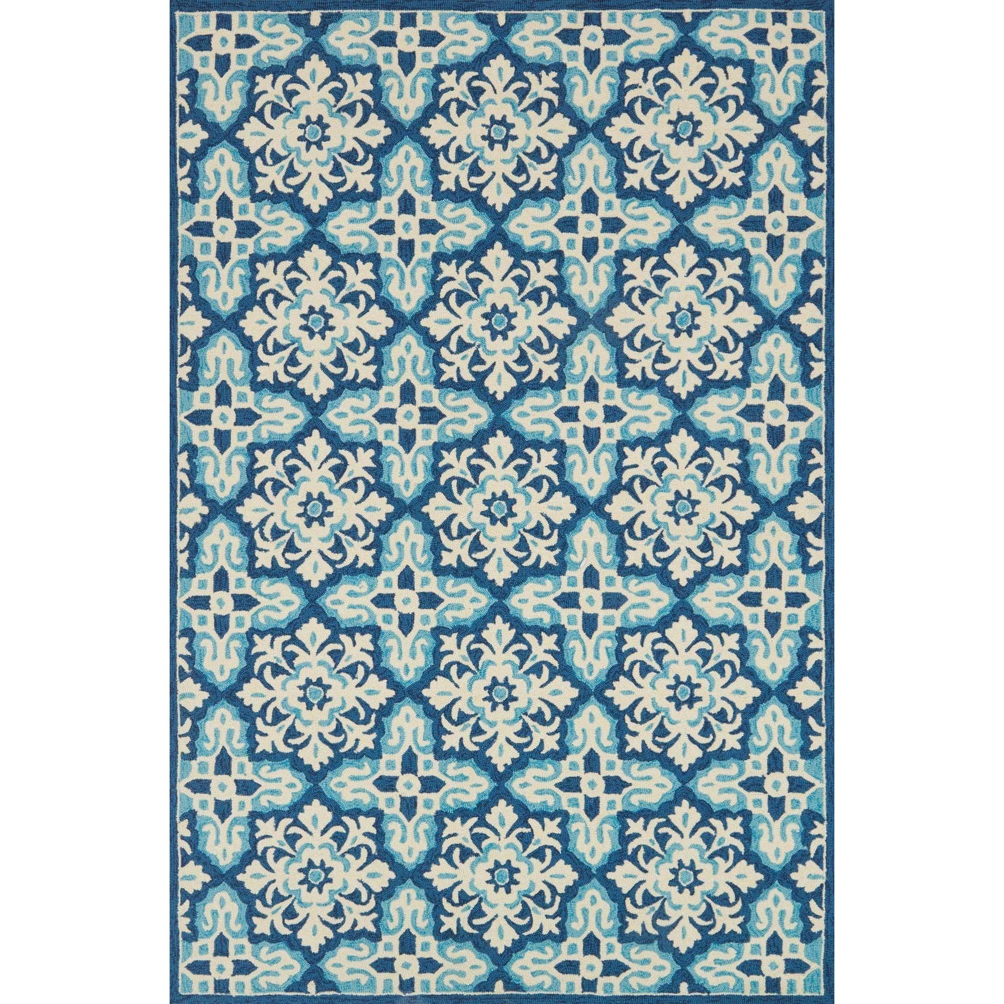 """Venice Beach 7'-10"""" X 7'-10"""" Round Rug by Loloi Rugs at Virginia Furniture Market"""