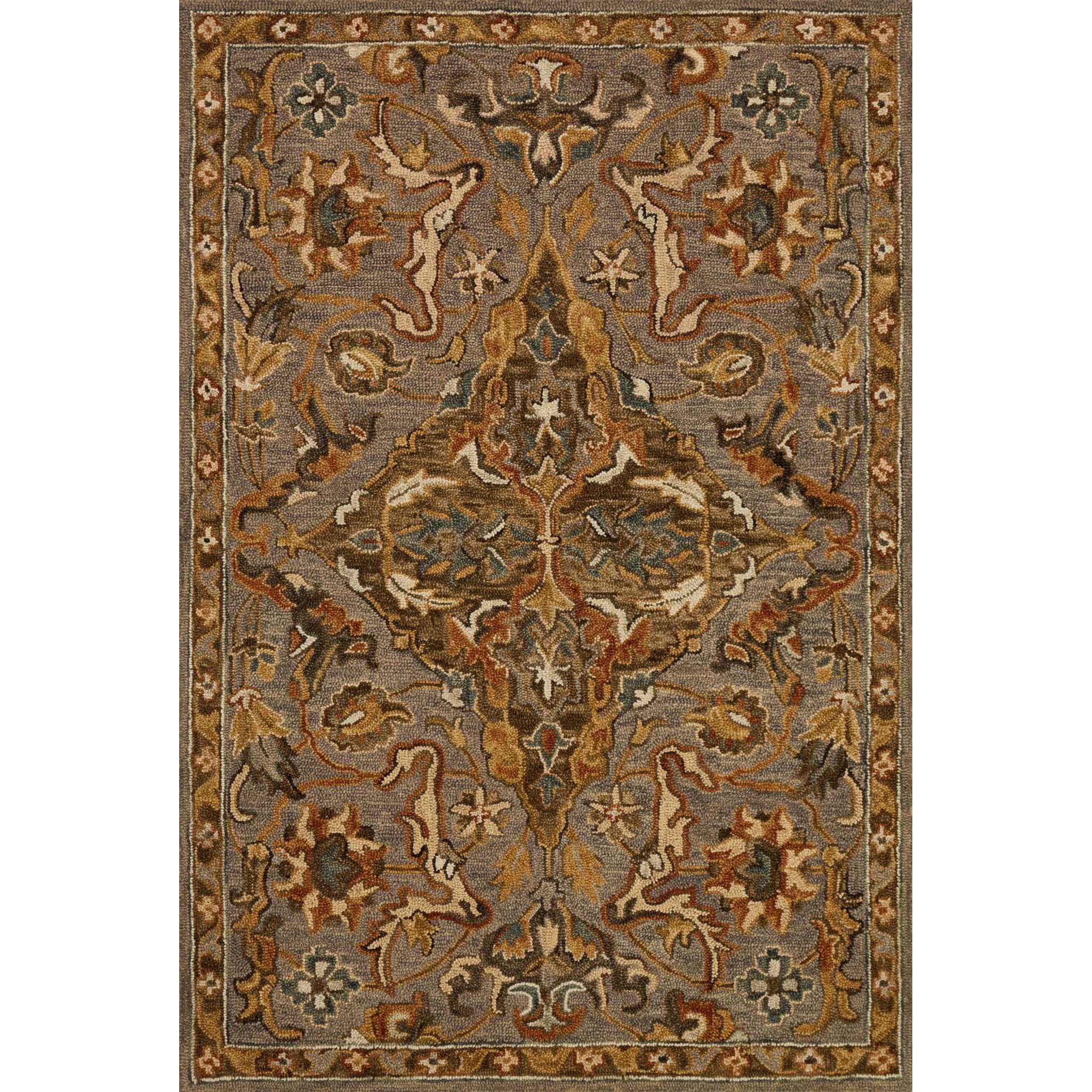 """Victoria 3'-6"""" X 5'-6"""" Rug by Loloi Rugs at Virginia Furniture Market"""