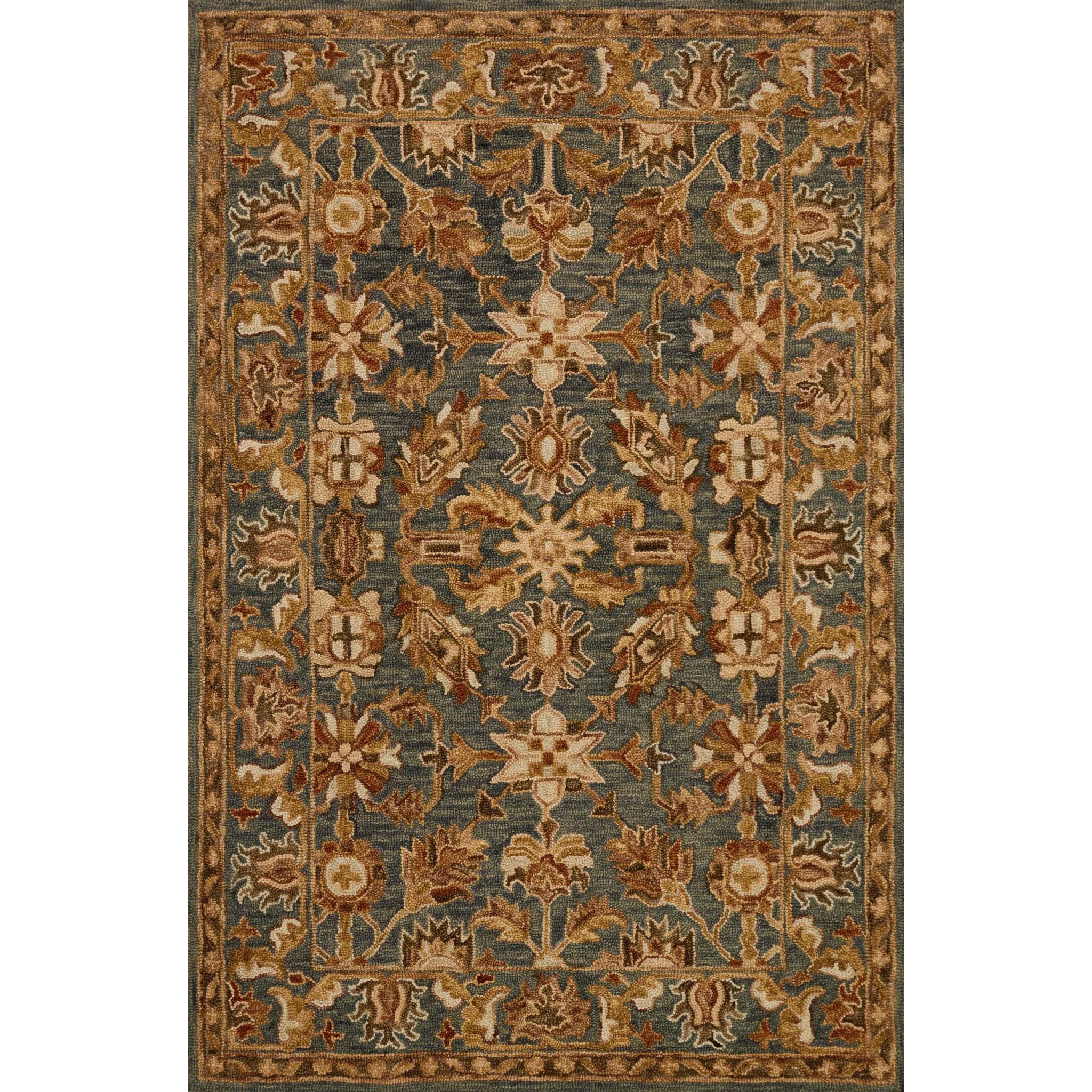 """Victoria 5'-0"""" X 7'-6"""" Rug by Loloi Rugs at Story & Lee Furniture"""