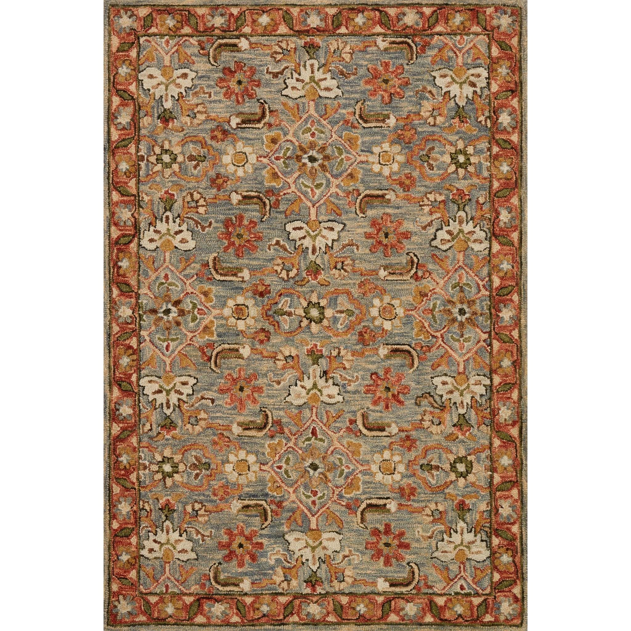 """Victoria 2'-6"""" X 7'-6"""" Rug by Loloi Rugs at Virginia Furniture Market"""
