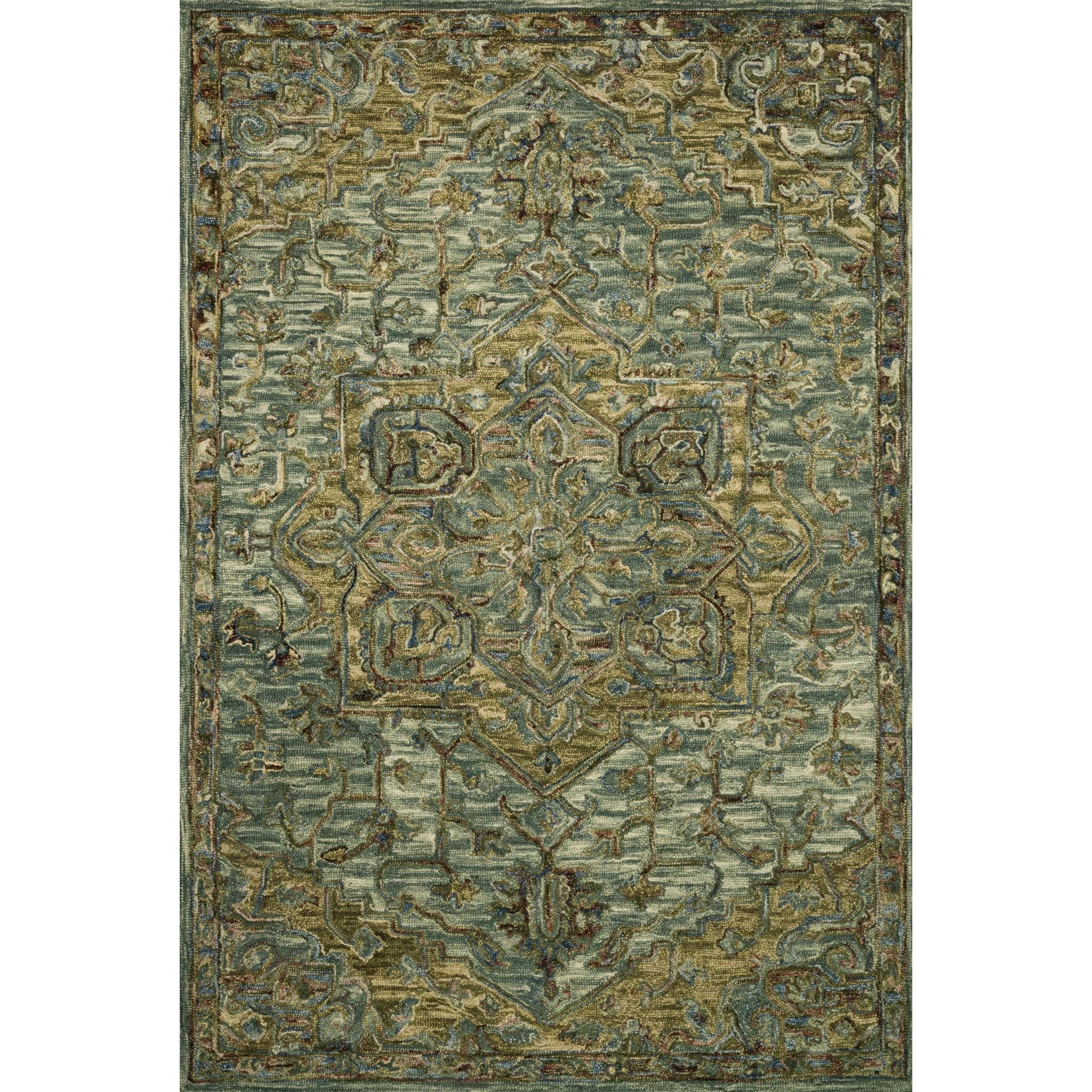 """Victoria 2'-3"""" x 3'-9"""" Rug by Loloi Rugs at Virginia Furniture Market"""