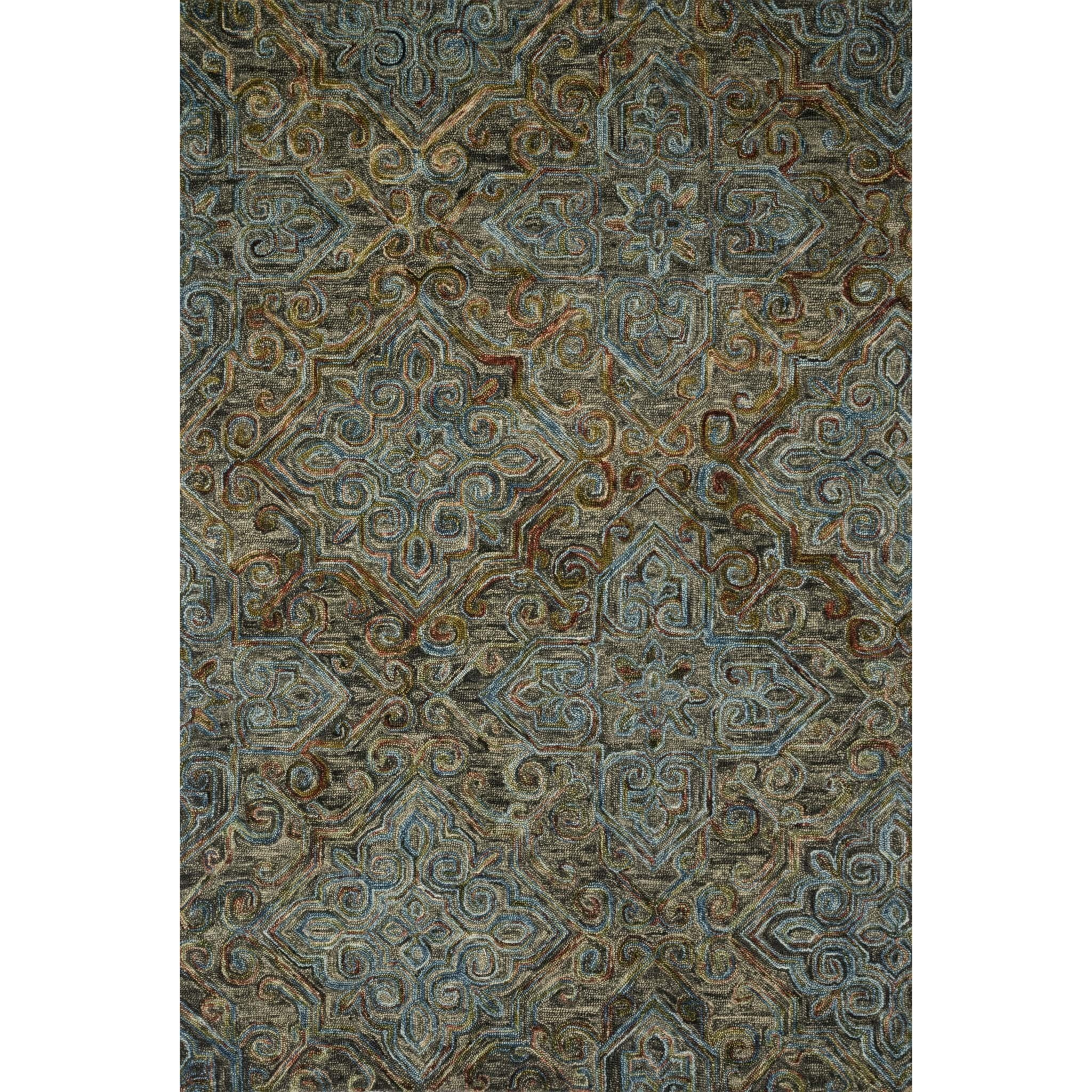 """Victoria 7'-9"""" x 9'-9"""" Rug by Loloi Rugs at Virginia Furniture Market"""