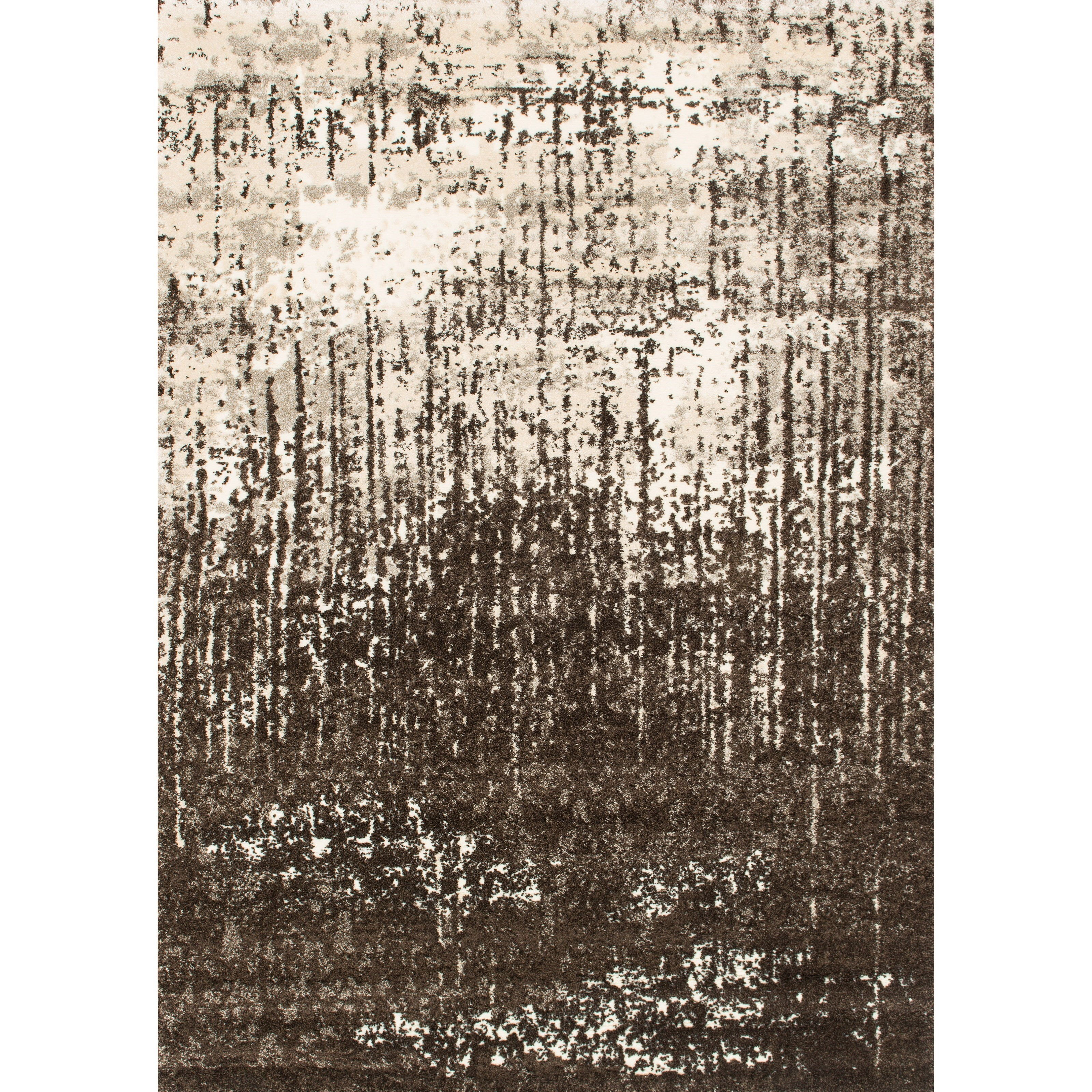 """Viera 8'11"""" x 12'5"""" Ivory / Brown Rug by Loloi Rugs at Virginia Furniture Market"""
