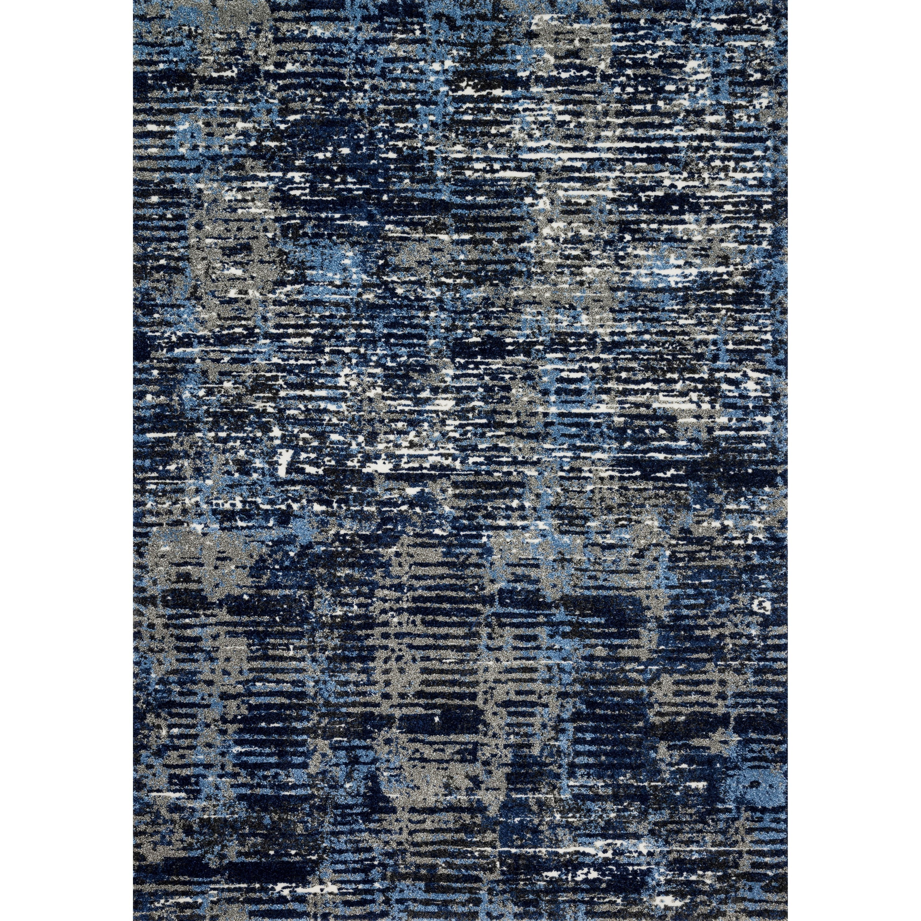 "Viera 1'6"" x 1'6""  Dark Blue / Grey Rug by Loloi Rugs at Sprintz Furniture"