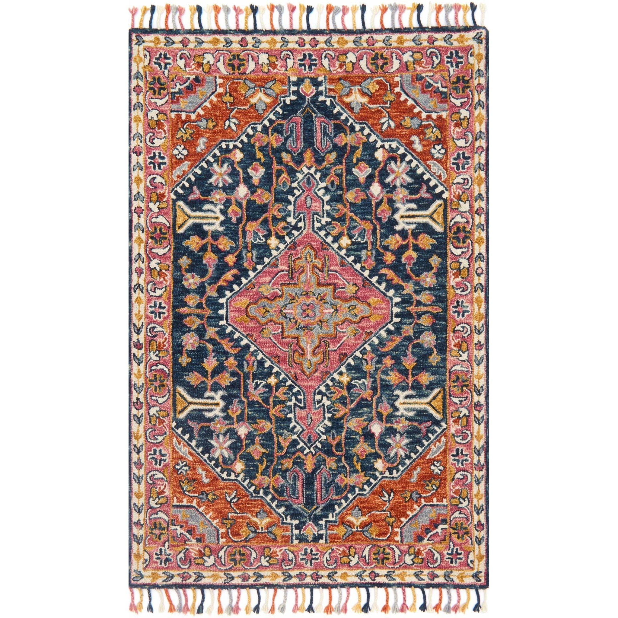 """Zharah 7'-9"""" X 9'-9"""" Rug by Loloi Rugs at Virginia Furniture Market"""