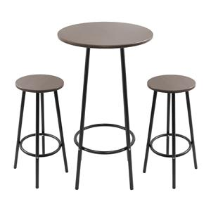 LumiSource Bar Tables and Stools  Zella Bar Table Set