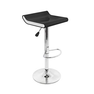 LumiSource Bar Tables and Stools  Mojito Barstool Black/White