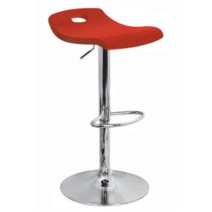LumiSource Bar Tables and Stools  Red Surf Barstool