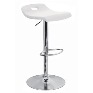 LumiSource Bar Tables and Stools  Surf Barstool White