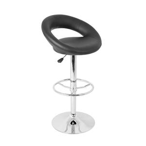 LumiSource Bar Tables and Stools  Posh Barstool Black