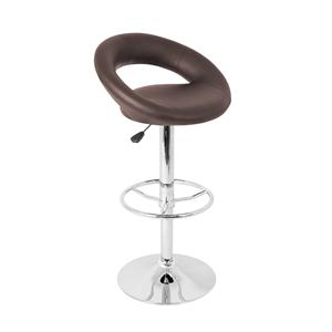 LumiSource Bar Tables and Stools  Posh Barstool Brown