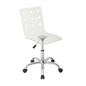 LumiSource Home Office Swiss Acrylic Office Chair