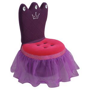 LumiSource Kids and Teen Furniture Princess Crown Chair