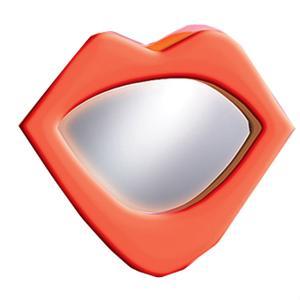 LumiSource Kids and Teen Furniture Neon Lips Mirror