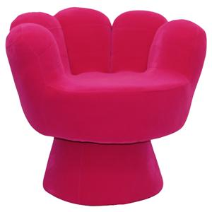 LumiSource Living Room Accents Mitt Chair