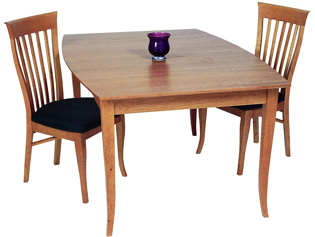 Lyndon Custom Dining <b>Custom</b> Boat Shaped Solid Top Table by Lyndon Furniture at Dinette Depot