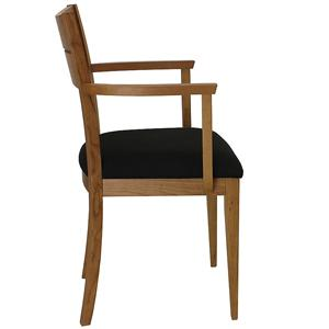 Lowell Arm Chair with Tapered Legs