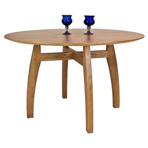 <b>Customizable</b> Chelsea Round Solid Top Pedestal Table