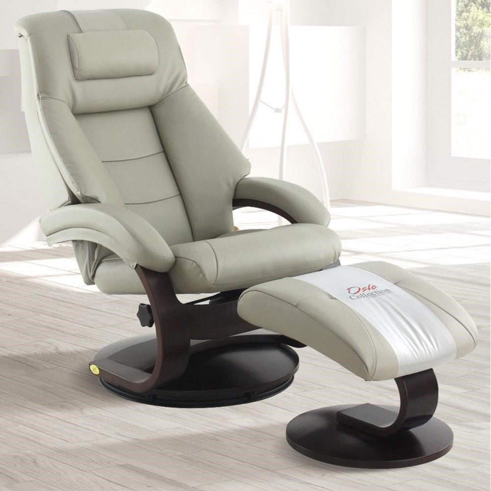 Montreal Relax-R™ Recliner and Ottoman with Pillow at Sadler's Home Furnishings